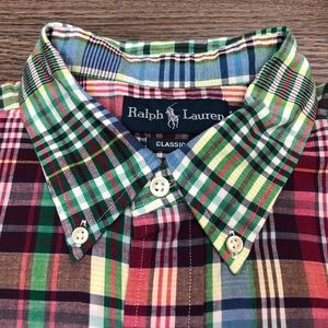 Polo by Ralph Lauren Shirts - Polo Ralph Lauren Madras Plaid Shirt XL